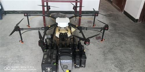 大疆1P植保无人机十块电池
