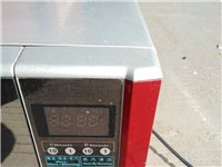 低价转让9成新微波炉,全不锈钢内胆,电脑控制