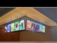LED點餐超薄燈箱尺寸60cm×200cm,特價處理,新新的沒用幾天