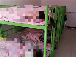 儿童用双层架子床7张,99新,带上下铺两床被褥全套,先低价处理,急搬家,需要的赶紧电话咨询。