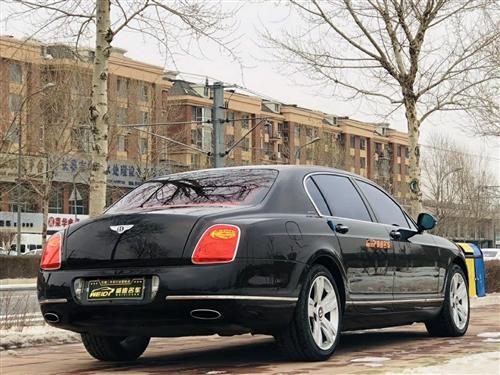 宾利飞驰,2010年6???上牌,5座宾利飞驰W12,排量6.0T,560马力,前置全时四驱6速,百...