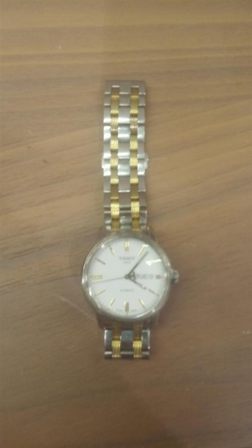两千多的天梭手表,不想带了,三百块出