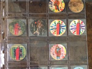 1998年左右,佳旺七匹狼水浒卡,一种膨化食品内附赠的有奖销售促销卡片,可有哪位老乡还留着的?给我吧