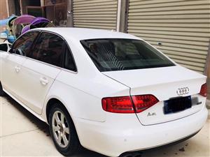 奥迪A4L,白色2011年一手车,2.0T车精品,可在永丰看车
