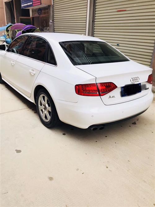 奧迪A4L,白色,個人一手車,2.0T車精品,可在永豐看車