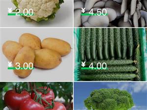 今日蔬菜�r格已更新。疫情期�g,蔬菜、主食(旋面)原�r【�A�s次日免�M配送(�h城�龋�】。�R�e小程序�_始下...