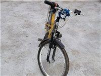 七八成新自行车,买来没骑好久就放在家里的