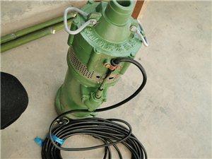 小老鼠型水泵,**、型号QD4-32/2-0.75 杨程32米、流量4方、功率0.75KW 买来...