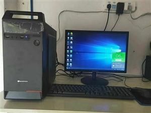 低�r出工作室�k公��X一批,**��X只使用了一��月,主�C�@示器包�b箱都在,整�C可以保修一年,Intel...