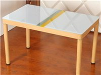 餐桌,新买的,没用过,80*130,买大了放不开,420入,350出,桌面ccc认证钢化玻璃10mm...