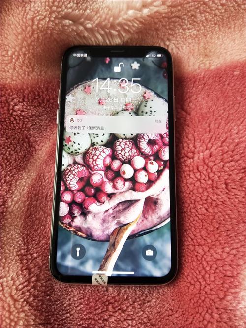 蘋果x 國行帶面容 功能正常 鄰水面交 電話微信同步18582727892