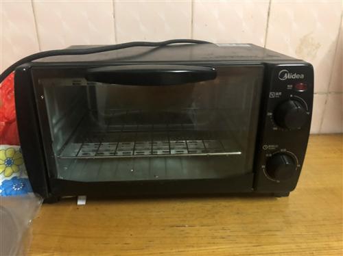 转自用美的烤箱10L,可自提