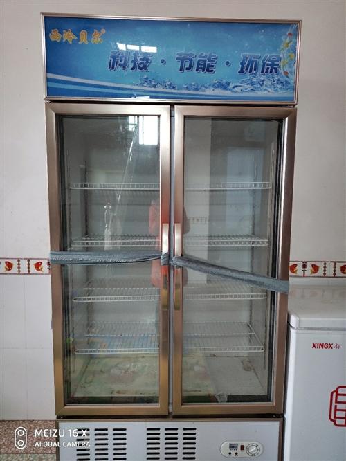 西冷貝爾冷藏展示柜,600L金色高貴典雅, 9成新,冷藏效果很好,有7個檔位 就去年夏天用了 ...