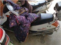 转让一台踏板摩托车  豪爵 ,换过轮胎,其它没毛病