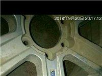 闲置一个哈弗轮胎 型号235/65R18。轮毂带轮胎 九成新 价格电议 电话13563601...