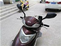 1500出售八成新臺鈴電動摩托車,72v,充一次電能跑八十公里!因為要出去外地工作忍痛割愛!