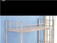 低价处理几张双层铁床,单层床,九成新,学生用。