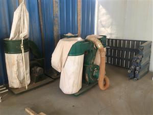 木工机械 除尘设备,多台便宜处理
