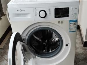 美的滚筒洗衣机,买来两年,因为搬新家重新买了所以低价出