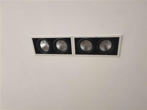 雷士照明LED格栅射灯24W40W大功率LED斗胆射灯NLED552NS NLED551N**没用过...
