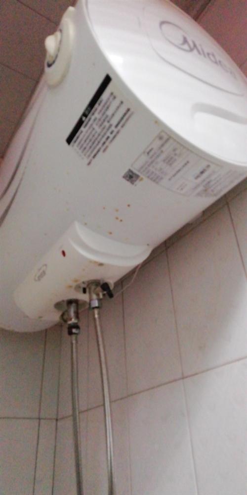 美的密闭型储水式电热水器,型号F60一15A2容量60升。新购价1200元。仅家用一年。现已装燃气热...