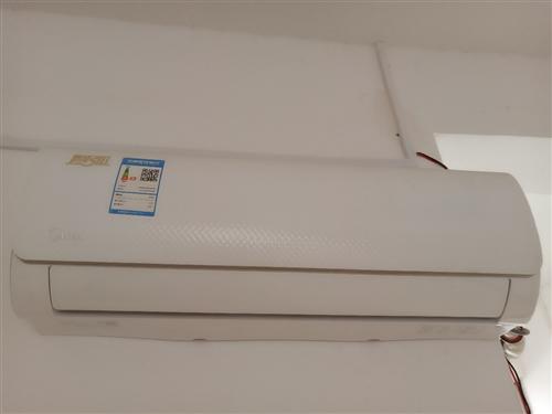 现有九成新美的变频空调一台,价格美丽,欢迎来询??