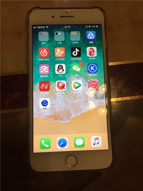 转让自用国行苹果7p,刚换好电池。功能一却正常,成色还可以