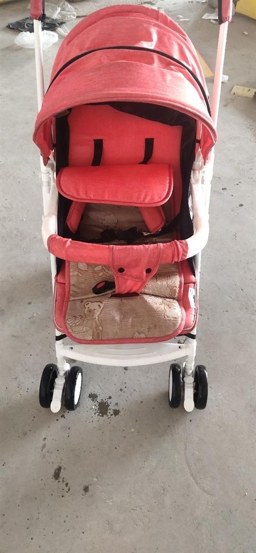 嬰兒推車  可做可躺  可折疊