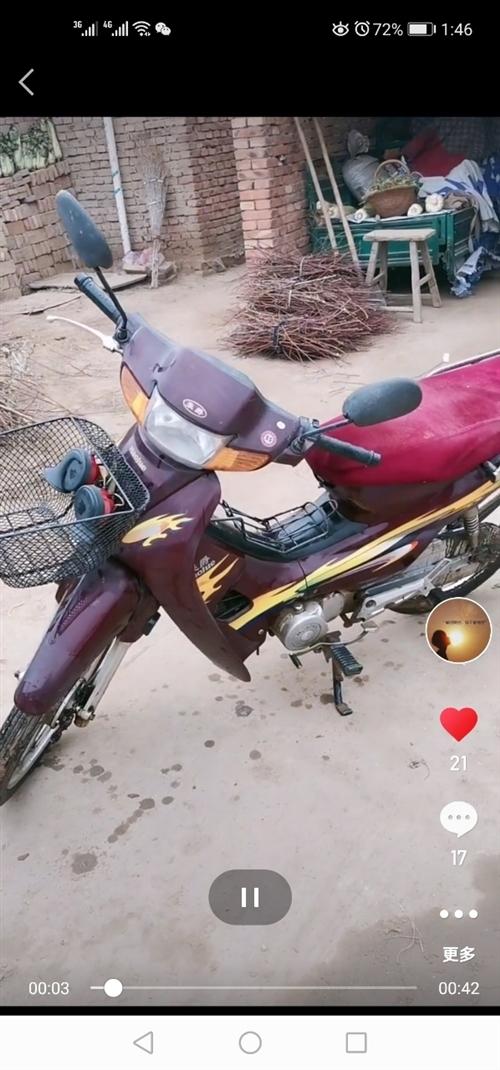 豪爵铃木坤式摩托