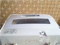 二手全自动洗衣机两台:1、海信8公斤一台,机器成色8成新,刚更换**原厂电机,配件齐全性能**;2、...