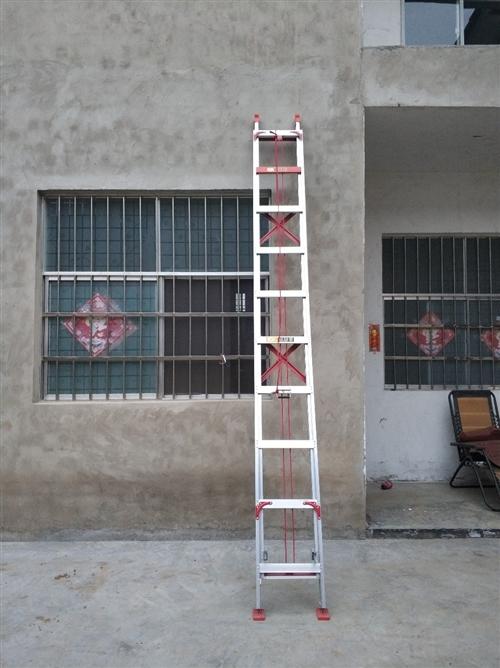 昊升伸縮梯子,工程梯子樓梯,7米長,3個厚度,收縮后3.7米,重量很足,厚實,質量非常好!買的500...