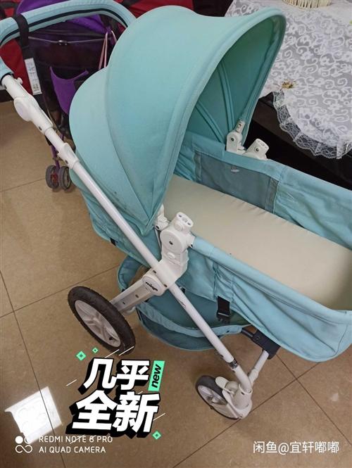 mige米歌嬰兒推車高景觀嬰兒車可坐可躺輕便充氣輪寶寶嬰兒手推車  幾乎**一樣,可坐可躺,減震舒適...