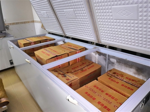 星星冰柜1288升 长2米60  宽95公分 高90公分 琼海市兴工路