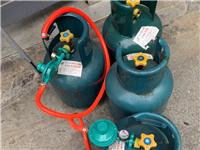 液化气罐 有大有小 小的50带液化气 大的100带液化气 前饼果子机 200。