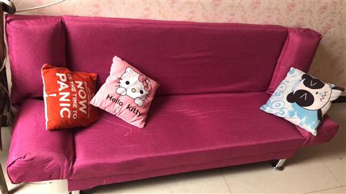 折叠沙发床,九成新