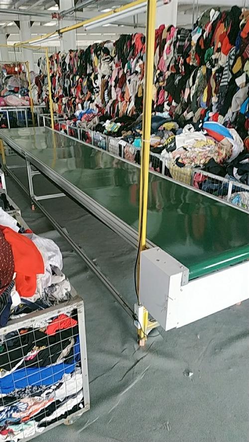 常年大量回收旧衣服旧床上用品 诚招各县市供应商