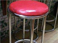 不锈钢吧台椅60公分高,有6个,每个30元。自提