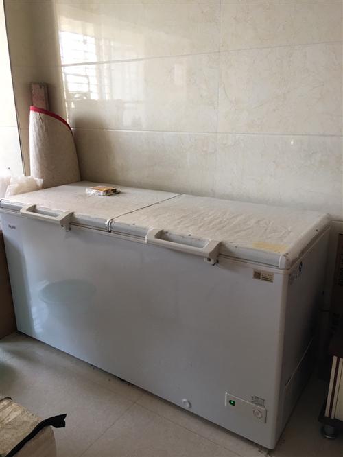 海尔冷柜519升购买来用于冷茶叶,用过一年质量九成新,质量无其它问题,现在搬家免用,底价转让价格可面...