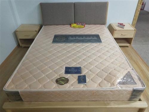 1.5米白蜡木实木床,原价3500元,现在1680元,家具厂直销