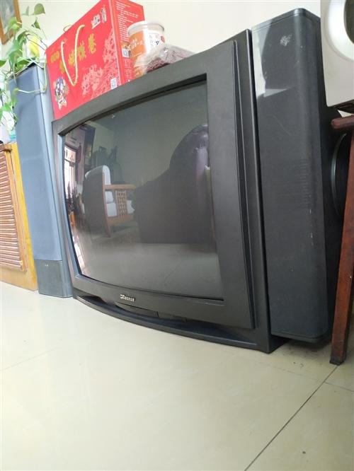 34寸夏华牌电视机,进口显像管,完好无故障。