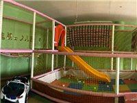 儿童游乐用淘气堡,八成新,现因装修需腾场地,低价处理,需自己拆除。