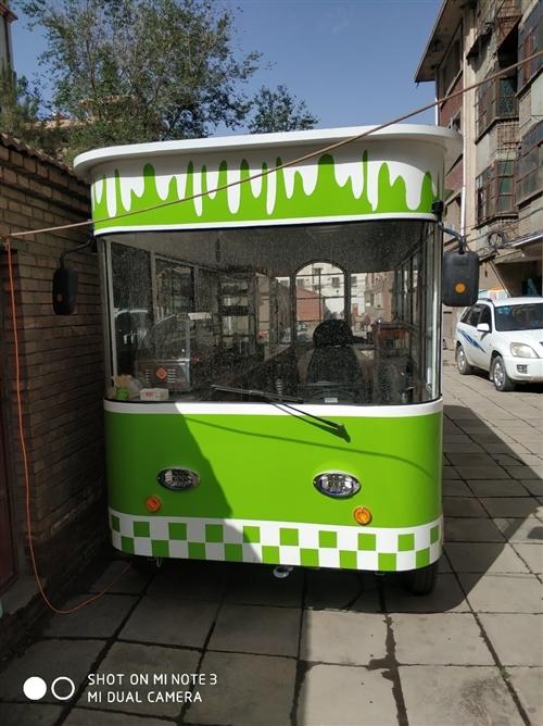 本人因另有发展,现将去年买的4.5米'*1.8米餐车.低价出售,可以卖烧烤,早餐,里面设备齐全,有固...