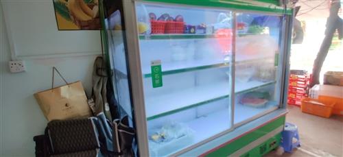 2米长,风直冷冷藏柜,制冷效果好,原价8500左右,现在价格便宜!!串串馆子,火锅店,水果店都可以用...