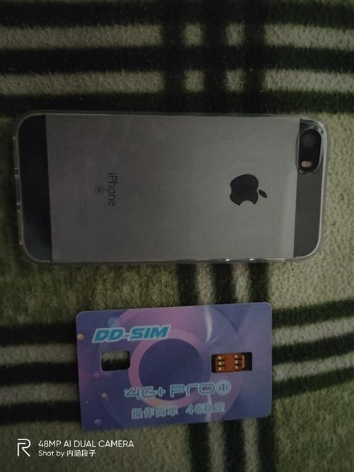 苹果SE **手机,爱思全绿,32g内存,美版卡贴机,送**卡贴