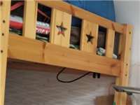 双层床下面一米二上面一米一,实木的,800-1000,不能低于这个数,买的时候小两千买的,博兴县城内...