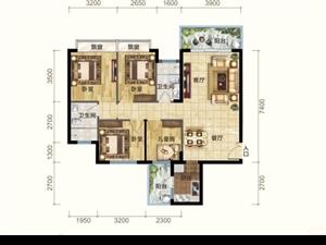 碧桂园海逸半岛3室 1厅 1卫135万元