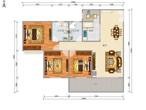 御景湾4室 2厅 2卫67.1万元
