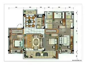 碧桂园中央公园4室 2厅 2卫78万元