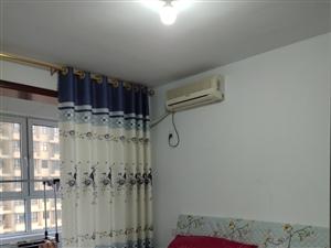 盛景城,电梯两室,3个空调,1000