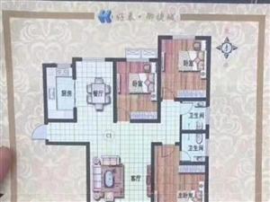 好泰・御捷城130平首付45万左右房东包过户